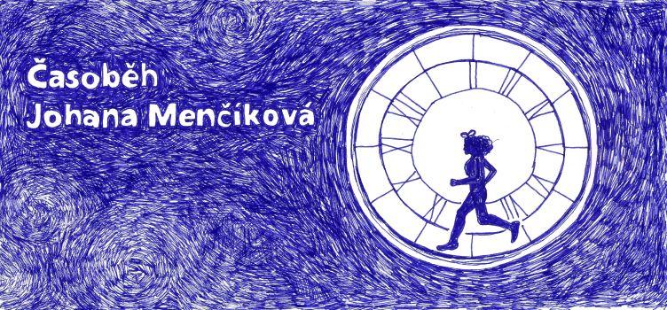 Autorkou jednoho z flipbooků v narozeninové publikaci Cesty domů je výtvarnice Johana Menčíková.