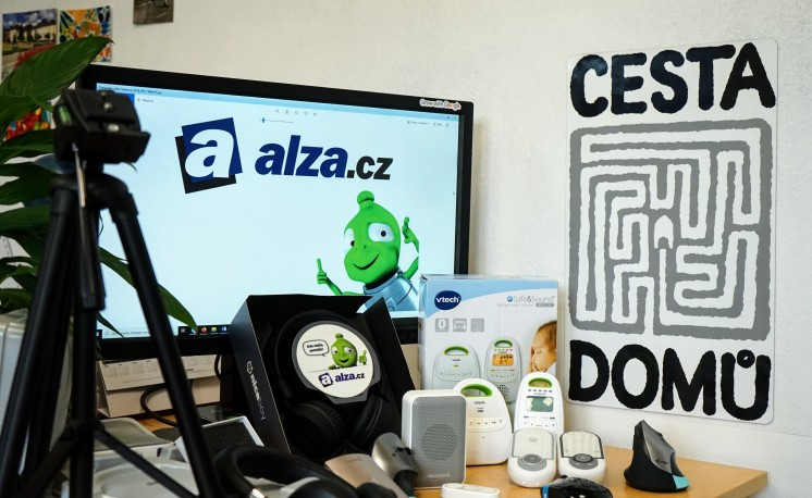Alza.cz pro Cestu domů