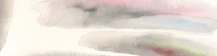 Martina Špinková - akvarelový podkres pro stránku Vzpomínky