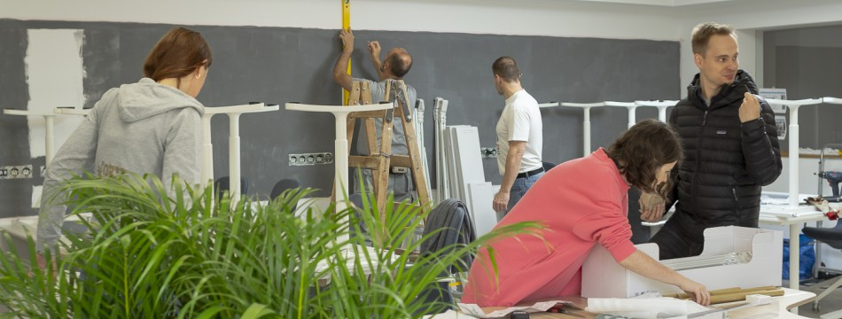 Dobrovolníci IKEA pro Cestu domů