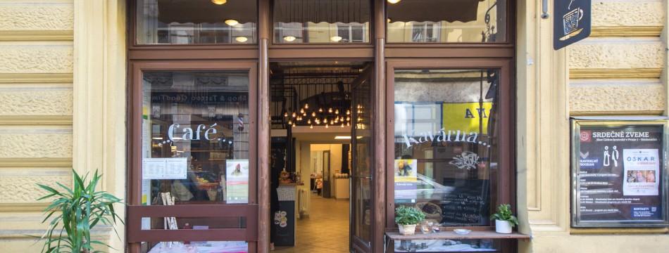 Kavárna Cesta domů