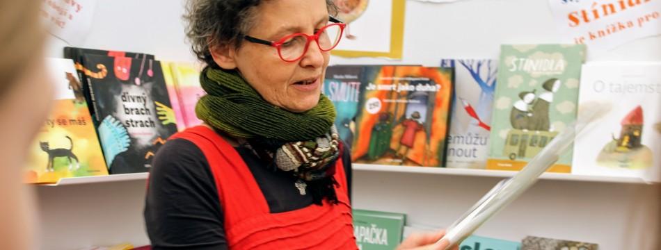 Martina Špinková na veletrhu Svět knihy