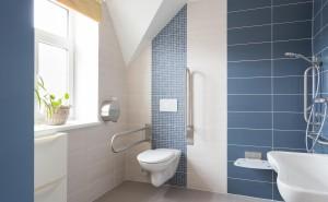 Pobytové odlehčovací služby Cesty domů – koupelna u pokoje