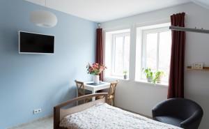 Pobytové odlehčovací služby Cesty domů – modrý pokoj