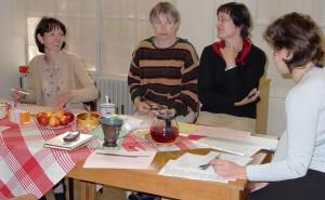 První setkání multiprofesního týmu mobilního hospice Cesta domů_rok 2003