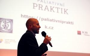 Adam Houska na X. celostátní konferenci paliativní medicíny