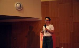 Irena Závadová na X. celostátní konferenci paliativní medicíny