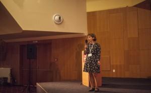 Kateřina Menčíková na X. celostátní konferenci paliativní medicíny
