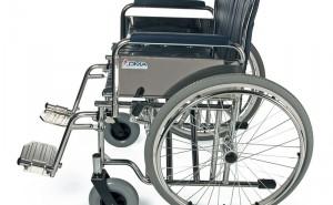 mechanický vozík | různé šíře sedu (40 až 51 cm) | skládací | nosnost 100 kg