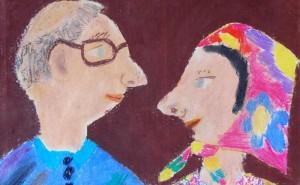 Malujeme babičku a dědečka_výtvarná soutěž knihovny Cesty domů_2007