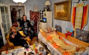 Natáčení dokumentu Život se smrtí pro Českou televizi, na kterém se podílela Cesta domů. Foto Krunoslav Kiko Keteleš