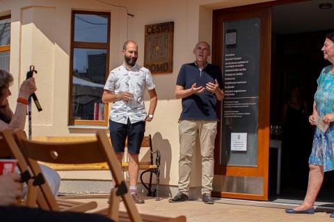 Slavností otevření nového sídla Cesty domů